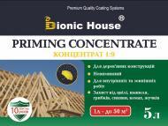 Биозащита Bionic House для стропильных систем концентрат 1:9 зеленый не создает пленку 5 л