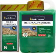 Биозащита Bionic House для стропильных систем трудновымываемый концентрат-пропитка 1: 9 5+1 кг