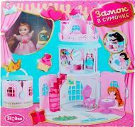Игрушечный набор домик с куклой и мебелью QL050-2