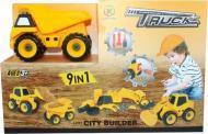 Іграшка Kaile Toys набір розбірної техніки 9 в 1 KL713-1
