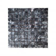 Плитка KrimArt Мозаiка Полiр. МКР-2П (23х23) Black 305*305*6 мм