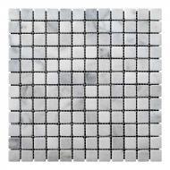 Плитка KrimArt мозаика Mix White МКР-2А 30,5x30,5
