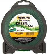 Волосінь косильна Oleo-Mac GreenLine 1,6 мм