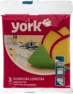 Губка для миття посуду York  BETTY 3 шт.