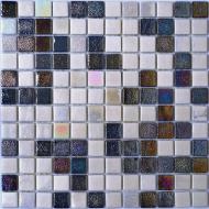 Плитка AquaMo Мозаїка White&Gray Matt 31,7x31,7