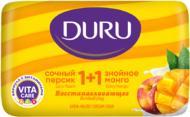 Мило Duru 1+1 Соковитий персик та знойне манго 80 г 1 шт./уп.