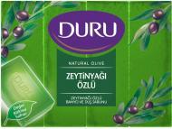 Мыло Duru Natural С экстрактом оливкового масла 600 г 4 шт./уп.
