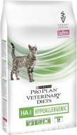 Корм для котів з харчовими алергіями Pro Plan Veterinary Diets HA Hypoallergenic 1,3 кг