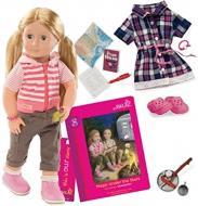 Кукла Our Generation Deluxe Шеннон с книгой Магия под звездами BD31026ATZ
