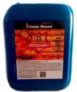 Огнебиозащита Bionic House БС-13 готовый раствор бесцветный 20 кг
