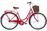 """Велосипед 28"""" Dorozhnik CLASSIC рубіновий RET-D-28-013"""