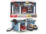 Ігровий набір Dickie Toys Рятувальний центр зі звуковими та світловими ефектами 3716015