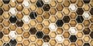Плитка Stylnul Гексагон кварцо 25x50