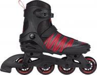 Роликовые коньки Firefly ILS 150 M76 414736-900050 р. 40 черный с красным