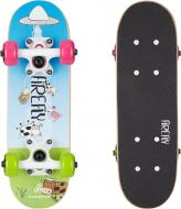 Скейтборд Firefly 414750-900569 SKB 055 синий с зеленым