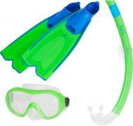 Набор для дайвинга TECNOPRO ST3 3 JR 289427-902687 р.L зеленый