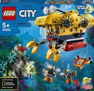 Конструктор LEGO City Океан: розвідувальний підводний човен 60264