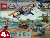 Конструктор LEGO Jurassic World Велоцираптор: рятувальна місія на літаку 75942