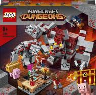Конструктор LEGO Minecraft Бій за червонокамінь 21163
