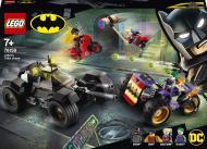 Конструктор LEGO Super Heroes DC Переслідування триколісного мотоцикла Джокера 76159
