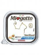 Корм Morando MioGatto Sterilised для стерилізованих котів, з лососем 100 г