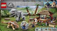 Конструктор LEGO Jurassic World Індомінус Рекс проти Анкілозавра 75941