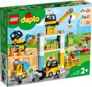 Конструктор LEGO Duplo Підйомний кран і будівництво 10933