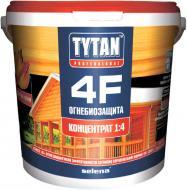Огнебиозащита Tytan 4F 1:4 красный 20 кг