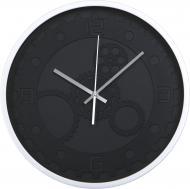 Годинник настінний Техно 35,5 см сірий