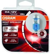 Лампа галогенна Night Breaker Laser +130% (64193NBL-HCB) H4 P43t 12 В 60 Вт 2 шт 3950