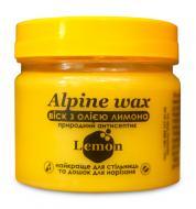 Воскова паста Alpine wax Lemon для стільниць та дошок для нарізання з олією лимона 100 мл (10100)