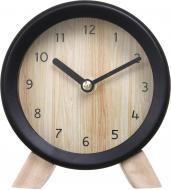 Годинник настільний Wood 15,2 см чорний