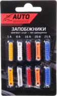 Запобіжники Auto Assistance автомобільні ножового типу AA10F-2 10 шт.