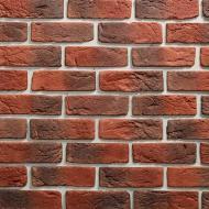 Плитка бетонна пряма Саватекс Декор Цегла клінкерна червона 0,6 кв.м