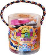 Набір тіста для ліплення Strateg Містер тісто 12 кольорів з блискітками 71101