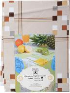 Скатертина Лайт 4731310а12 120x130 см різнокольоровий УкрСкат