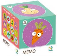 Игра настольная DoDo Мемо Фрукты и Овощи 300156