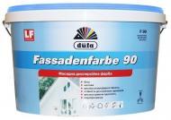 Краска акриловая Dufa Fassadenfarbe F90 мат белый 3,5кг