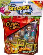 Набор Moose Grossery Gang S1 10 фигурок и 2 контейнера Чипсы 69003