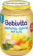 Пюре Bebivita Картопля та овочі з індичкою 220 г 4018852001447