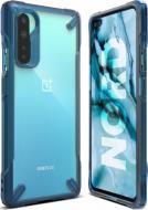 Чохол-накладка Ringke Fusion X OnePlus Nord Space Blue (RCH4849)