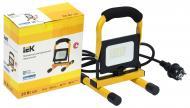 Прожектор IEK СДО 06-20П 6500 K 20 Вт IP65 чорний/жовтий