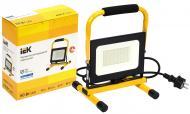 Прожектор IEK СДО 06-50П 6500 K 50 Вт IP65 чорний/жовтий