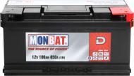 Акумулятор автомобільний Monbat D 100А 12 B «+» ліворуч