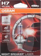 Лампа галогенна OSRAM Night Breaker Laser +130% H7 PX26d 12 В 55 Вт 1 шт 3600 К