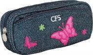 Пенал шкільний Butterfly CF85582 Cool For School джинс