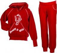 Спортивний костюм Lejeko р. 104 червоний 0090.2