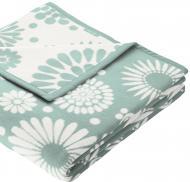 Плед Colour Cotton Flores Nordica 150x200 см блакитний Billerbeck