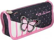 Пенал шкільний Butterfly CF85918 Cool For School рожевий