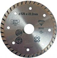 Диск алмазний відрізний Stanley Turbo 125x22,2 камінь, кераміка STA38217